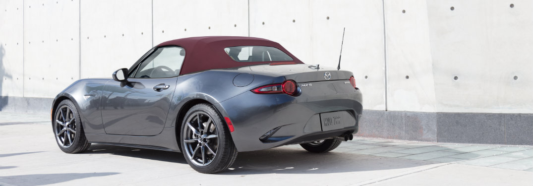 Gray-2018-Mazda-MX-5-Miata-with-Dark-Cherry-soft-top