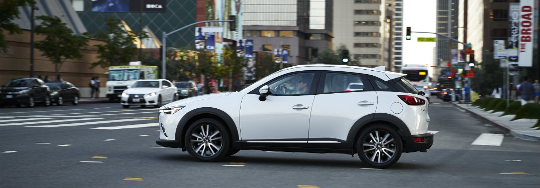 How far can you go in the 2018 Mazda CX-3?