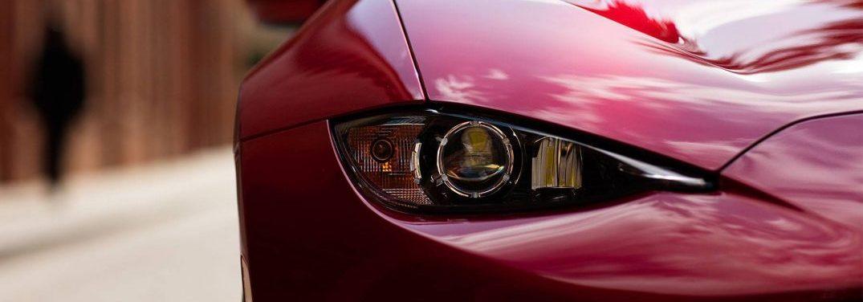 Color options on the 2018 Mazda MX-5 Miata RF
