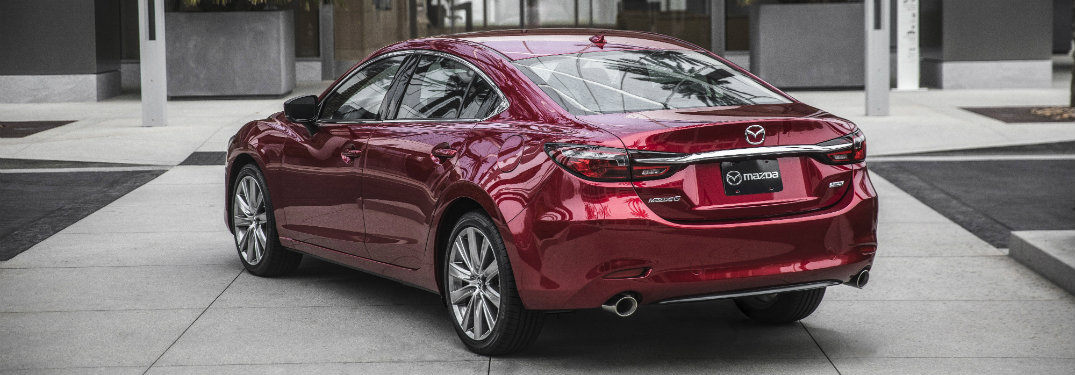 2018 Mazda6 engine performance and specifications