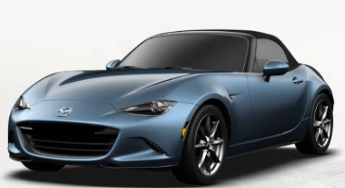 2018 Mazda MX-5 Miata Eternal Blue Mica