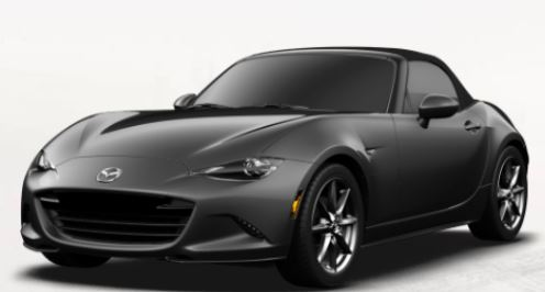2018 Mazda MX-5 Miata Machine Gray Metallic
