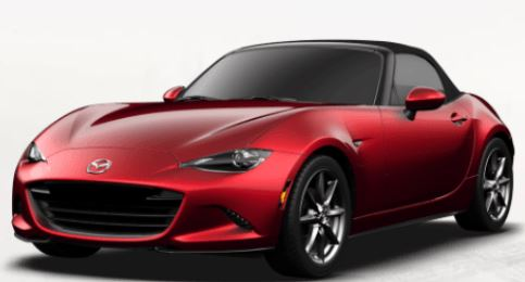 2018 Mazda MX-5 Miata Soul Red Crystal Metallic