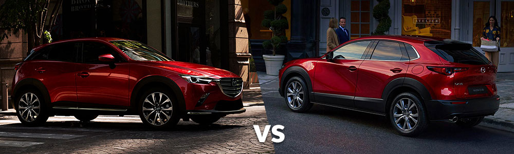 Mazda CX-3 and Mazda CX-30: What are the Differences?