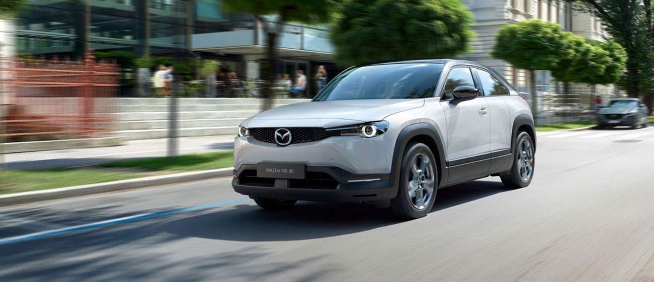 Mazda Starts Production of the MX-30 EV