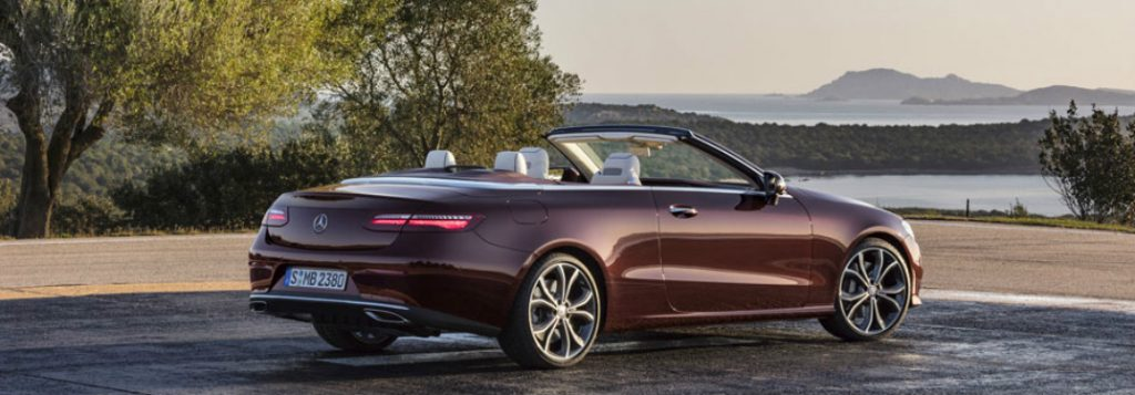 What s new in the 2018 mercedes benz e class cabriolet for Mercedes benz c class vs e class