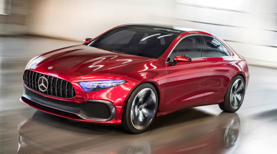 Release Date Of The 2018 Mercedes Benz Concept A Sedan B2 O Luxury