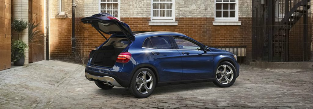 How much can you fit in the 2018 mercedes benz gla for How much is a new mercedes benz