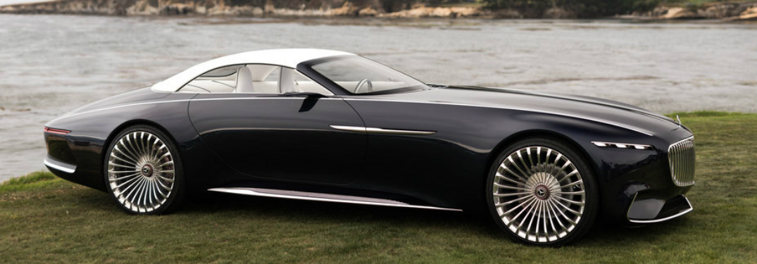 What S New In The Mercedes Maybach 6 Concept Car