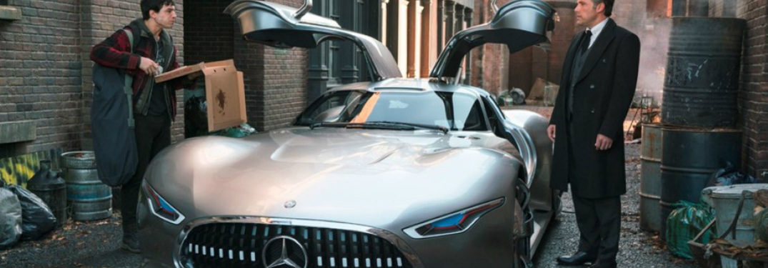 Mercedes-Benz AMG® Vision Gran Turismo in the 2017 Justice League movie