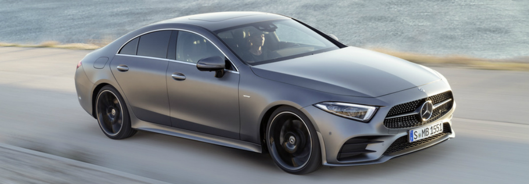 Upcoming silver 2019 Mercedes-Benz CLS