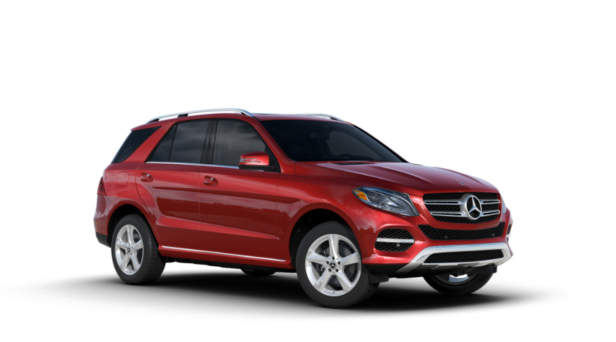 2018 Mercedes-Benz GLE in designo Cardinal Red Metallic