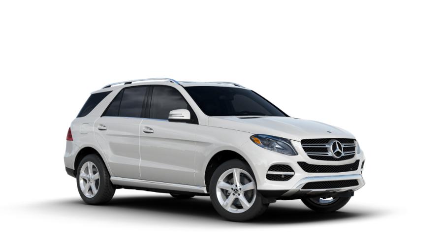 2018 Mercedes-Benz GLE in designo Diamond White Metallic