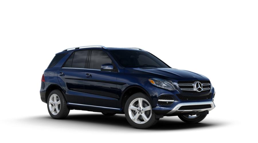 2018 Mercedes-Benz GLE in Lunar Blue Metallic