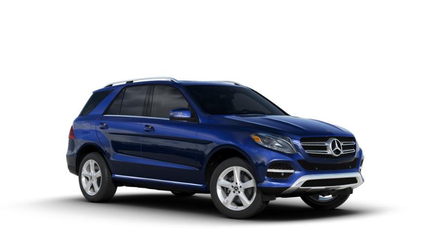 2018 Mercedes-Benz GLE in Brilliant Blue Metallic