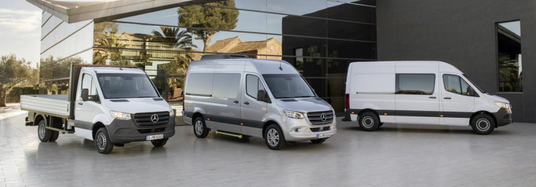 New 2019 Mercedes-Benz Sprinter lineup