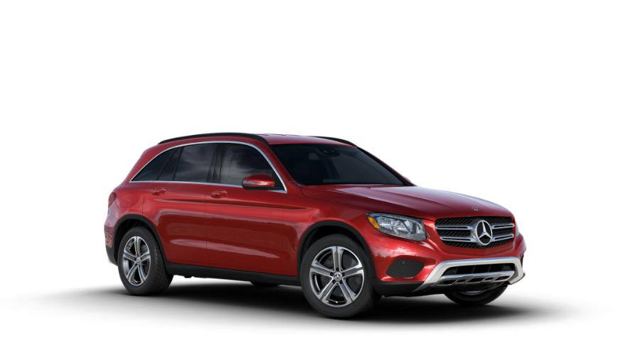 2018 Mercedes-Benz GLC in designo Cardinal Red Metallic