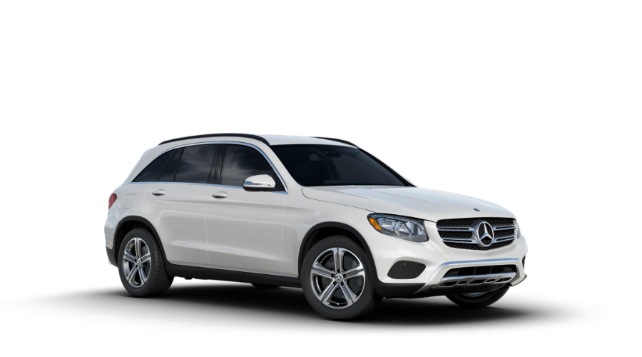 2018 Mercedes-Benz GLC in designo Diamond White Metallic
