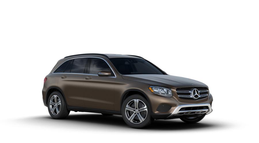 2018 Mercedes-Benz GLC in designo Dakota Brown Magno (matte)