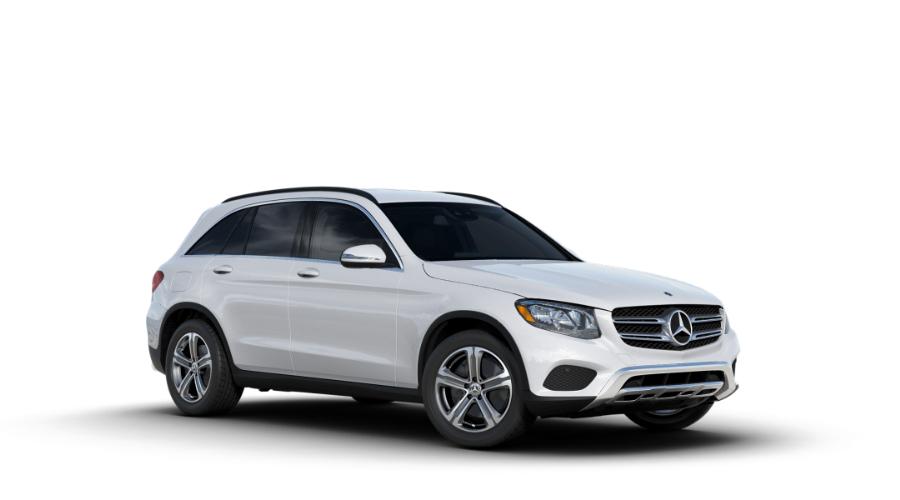 2018 Mercedes-Benz GLC in Polar White