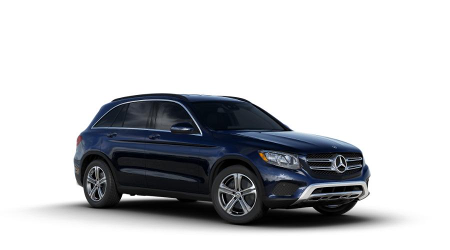 2018 Mercedes-Benz GLC in Lunar Blue Metallic