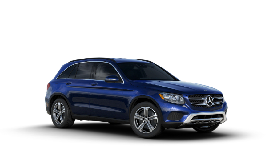 Color options for the 2018 mercedes benz glc suv for Mercedes benz options
