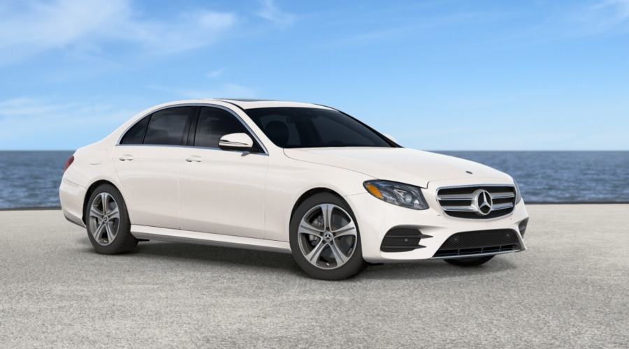 2019 Mercedes-Benz E-Class in Polar White