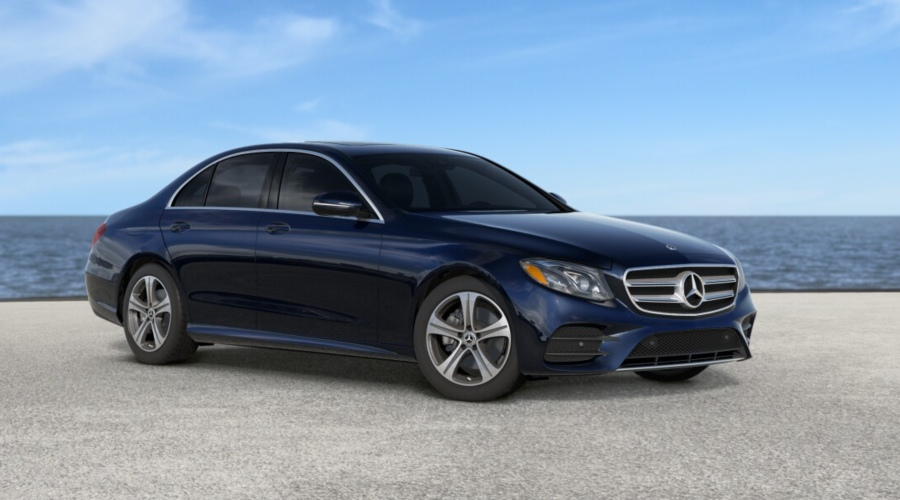 2019 Mercedes-Benz E-Class in Lunar Blue metallic