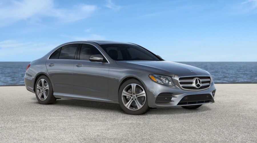 2019 Mercedes-Benz E-Class in Selenite Grey metallic