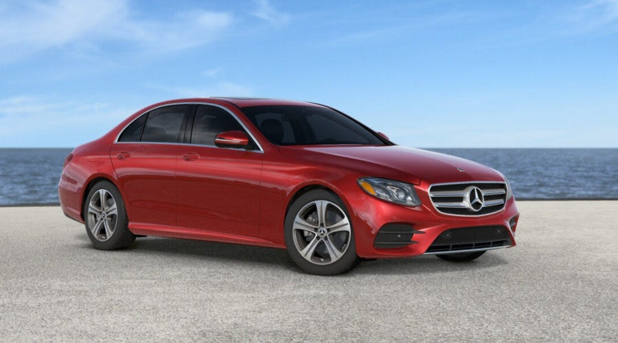 2019 Mercedes-Benz E-Class in designo Cardinal Red metallic