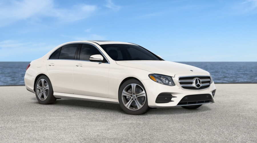 2019 Mercedes-Benz E-Class in designo Diamond White metallic