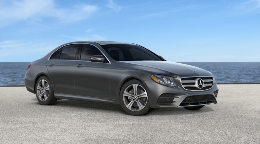 2019 Mercedes-Benz E-Class in designo Selenite Grey Magno