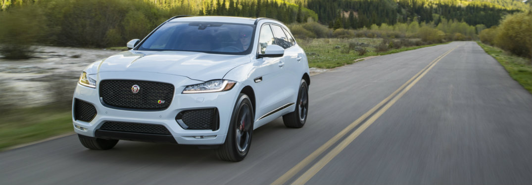 Elegant 2017 Jaguar F PACE Award Wins