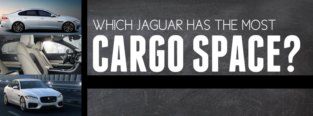 Which Jaguar Has the Most Cargo Space?