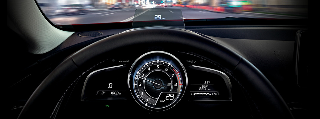 Which Canadian Mazda Models Have Active Driving Display For 2017