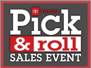 The Pick and Roll Sales Event is Happening Right Now