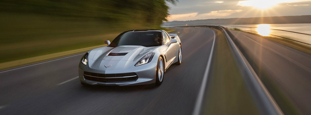 2017 Chevrolet Corvette Stingray top speed