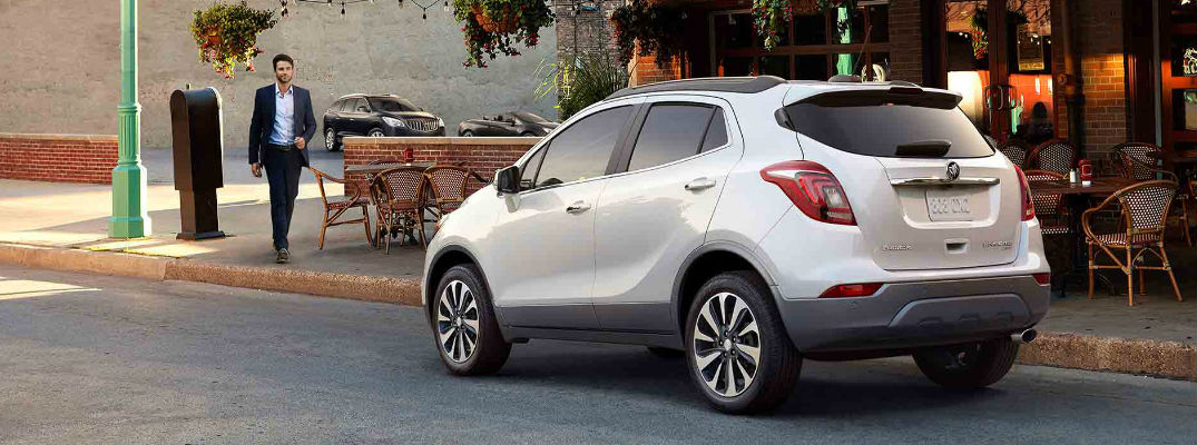 2018 buick encore passenger and cargo space. Black Bedroom Furniture Sets. Home Design Ideas
