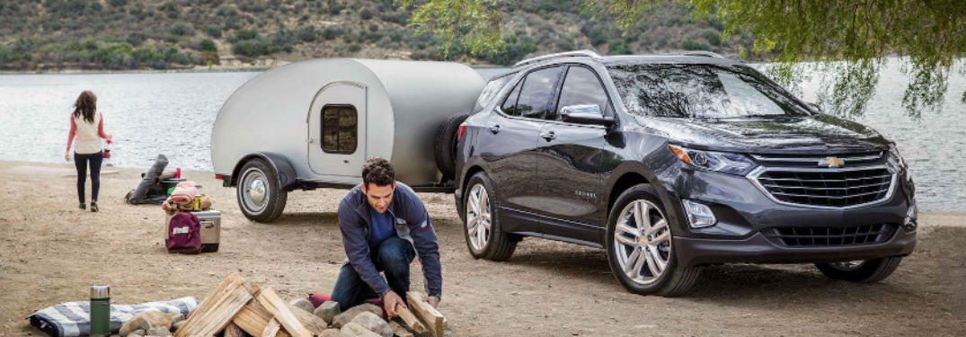 2018 Chevy Equinox Towing A Trailer