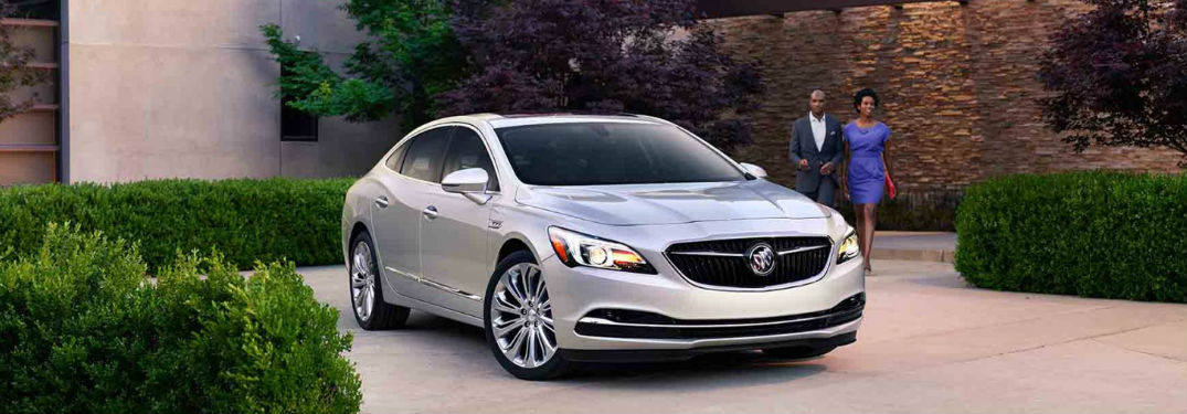 2018 Buick LaCrosse parked in driveway