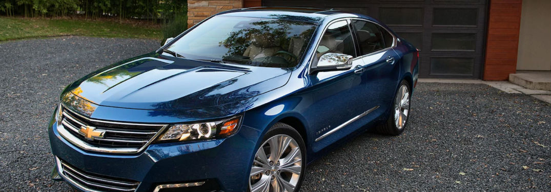 2018 Chevy Impala parked in a driveway