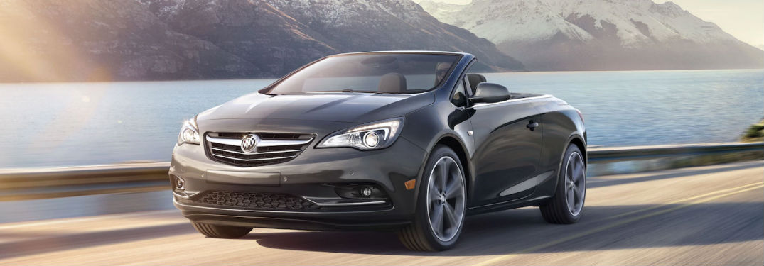 2018 Buick Cascada driving on road