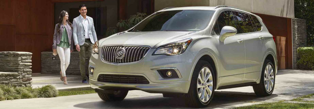 2018 Buick Envision parked on road