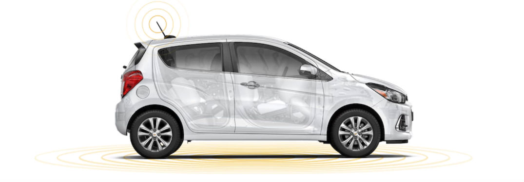 2018 Chevy Spark side profile