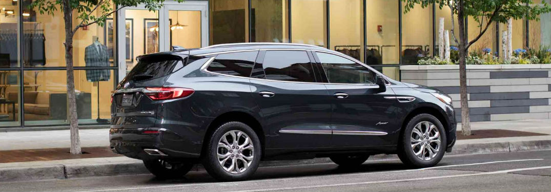 2018 Buick Enclave parked on side of a road