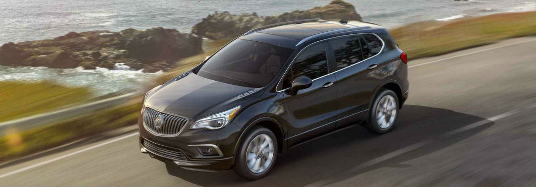2018 Buick Envision driving on a road