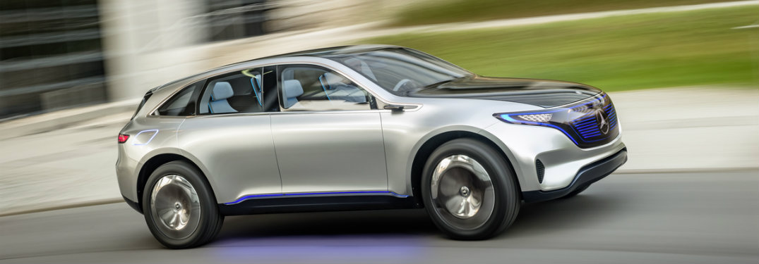 Mercedes-Benz New Electric SUV reveal
