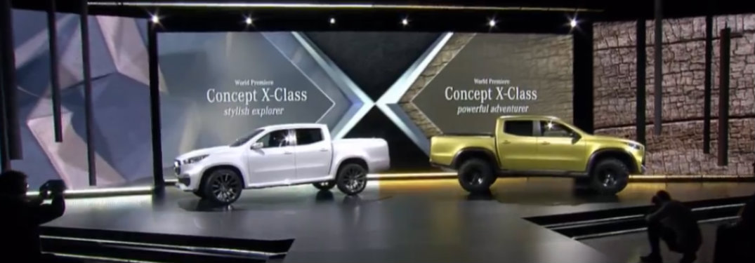 Mercedes-Benz Concept X-Class reveal