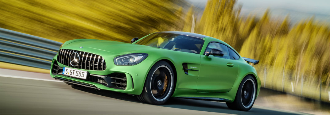 What is the fastest Mercedes-Benz AMG model?