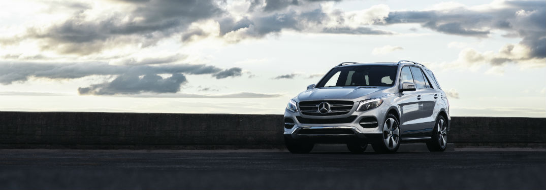2018 Mercedes-Benz GLE SUV front side exterior